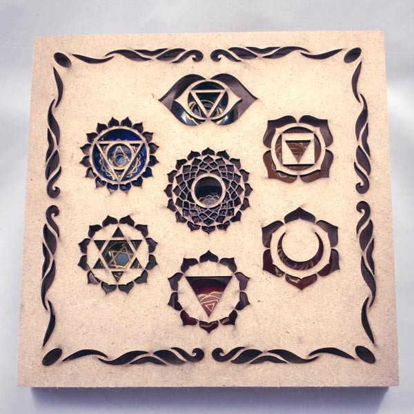 7 Chakra Stones in Boxed Set