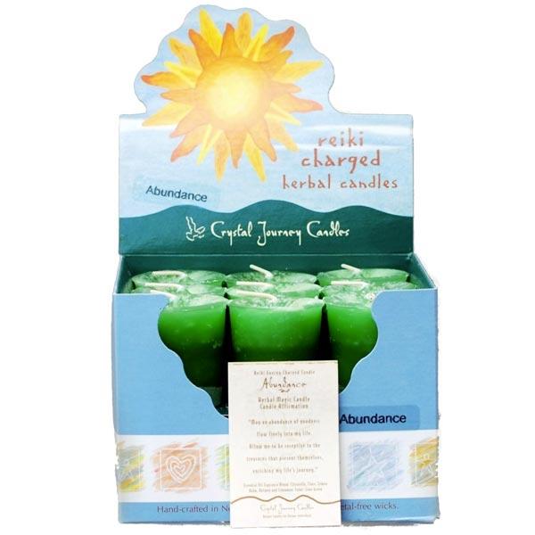 Reiki Charged Abundance Herbal Votives