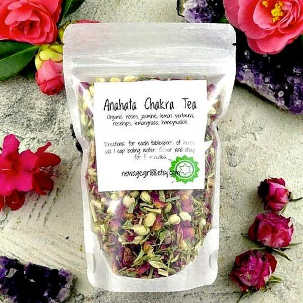 4th Chakra Anahata Tea