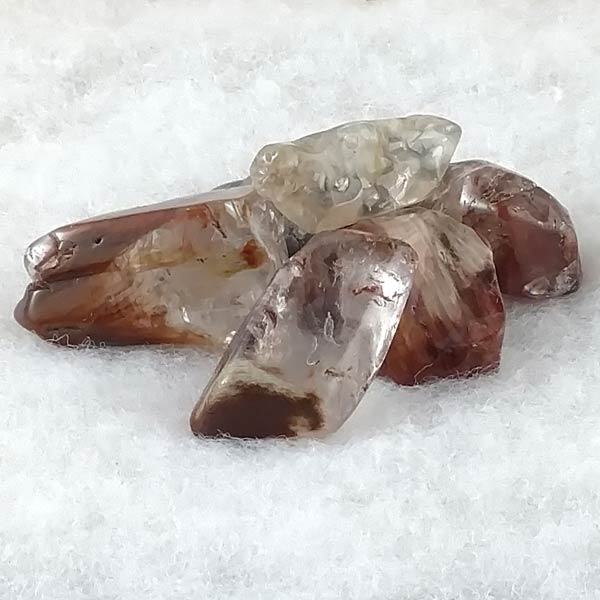 Angel Phantom (Amphibole) Quartz Tumbled