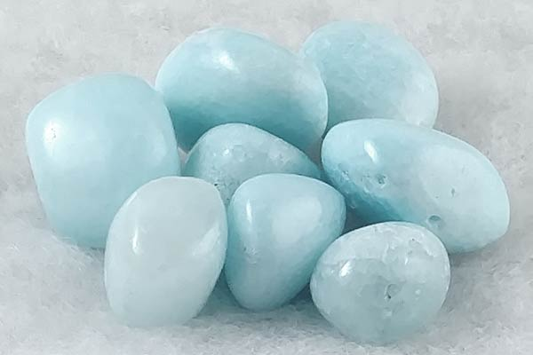 Tumbled Blue Aragonite