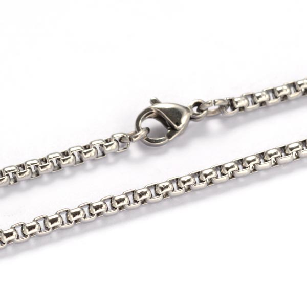 Stainless Steel Box Chain Assorted Lengths