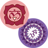 1st and 7th Chakra