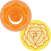 Chakra 2 and Chakra 3 Symbols