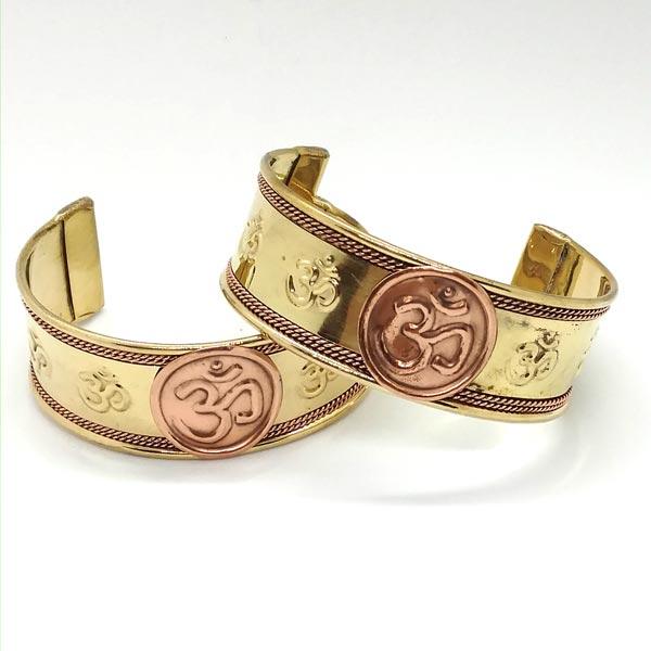 Copper Om Bracelet