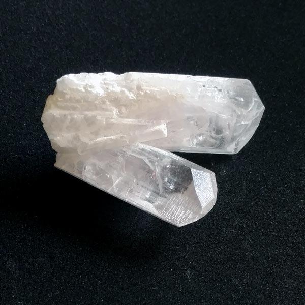 Danburite Twin Crystal