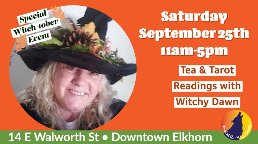Tea & Tarot with Witchy Dawn