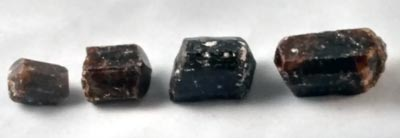 Small, Medium, Large and XLarge Dravite Crystals
