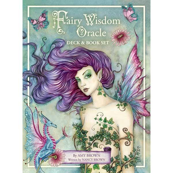 The Fairy Wisdom Oracle Deck & Book Set