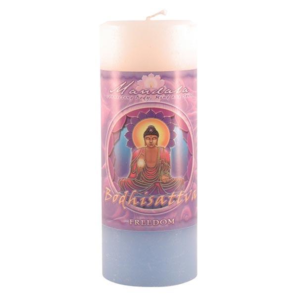 Freedom Mandala Pillar Candle