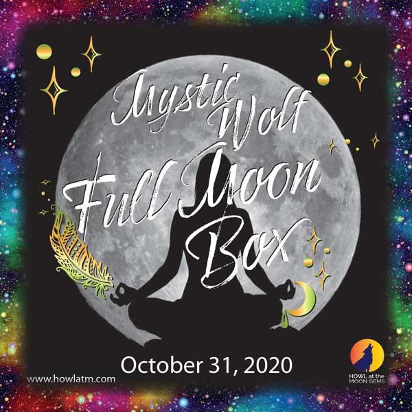 Mystic Wolf Full Moon Box for 10-31-2020