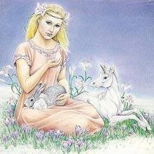 Goddess Eostre © Goddess Oracle Cards