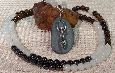 Grounding Mala Necklace