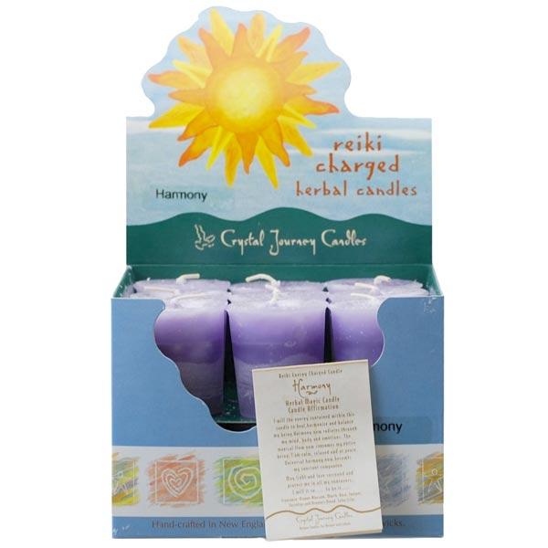 Reiki Charged Harmony Herbal Votives