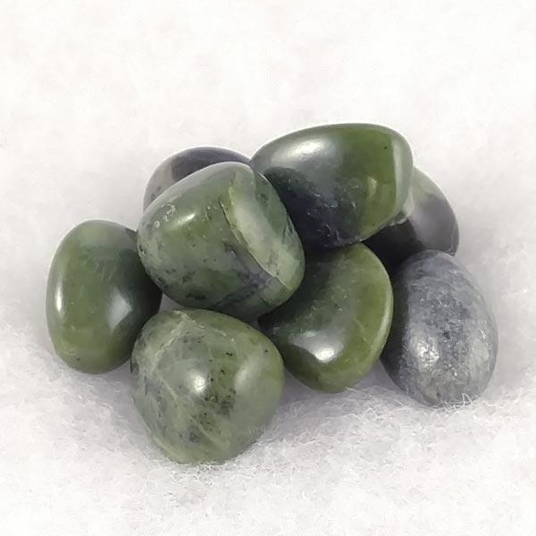 Canadian Jade Tumbled Stones