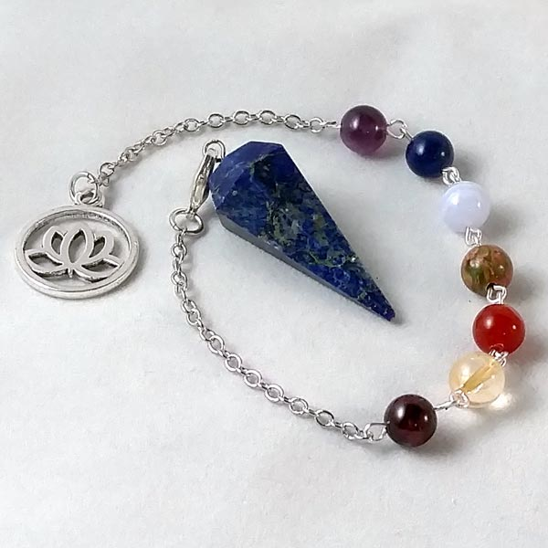Lapis Chakra Pendulum