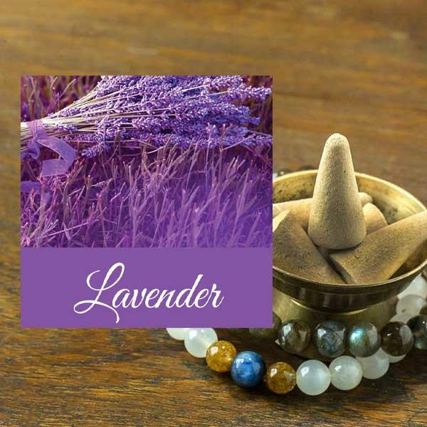 Lavender Cone Incense