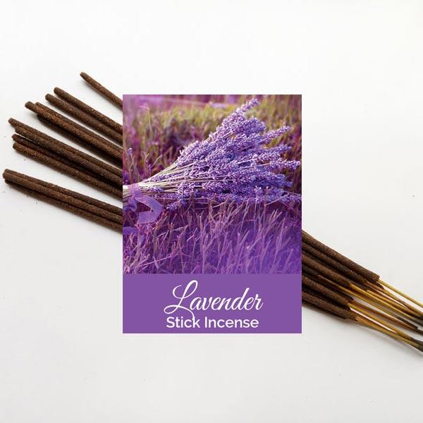 Lavender Stick Incense 12 pack