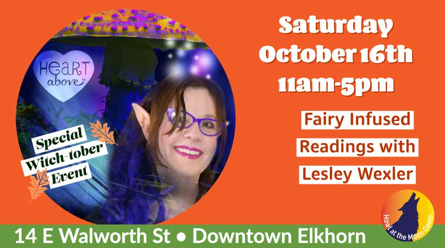 Fairy Infused Readings with Lesley