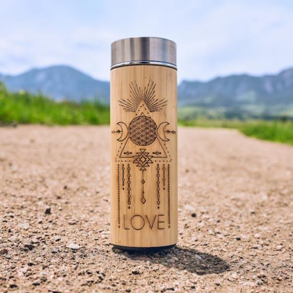 Love Water Bottle - 15.2 oz