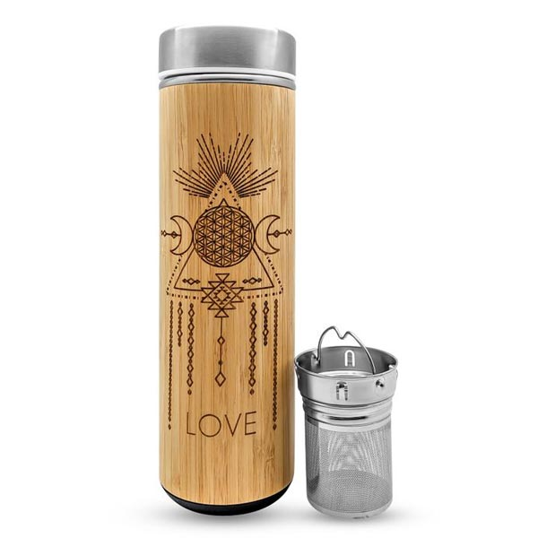 Love Water Bottle - 17.9 oz