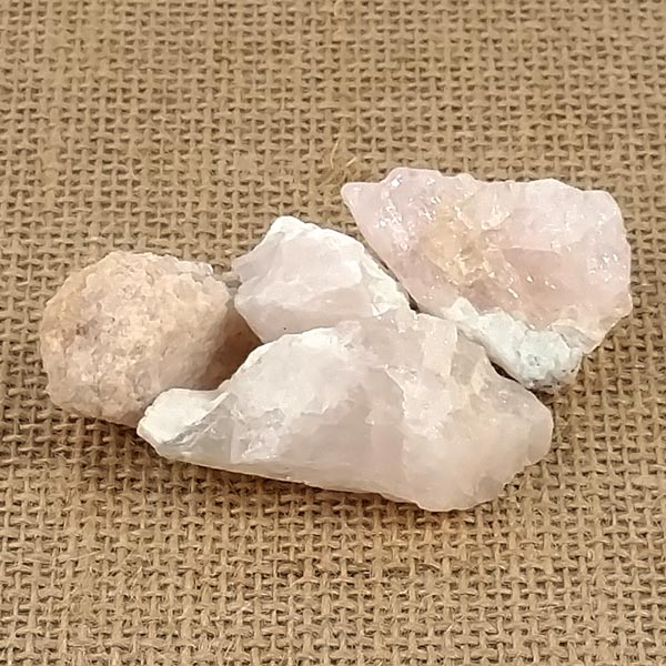 Morganite Rough Nuggets