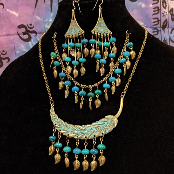 Moroccan Garden Necklace Set