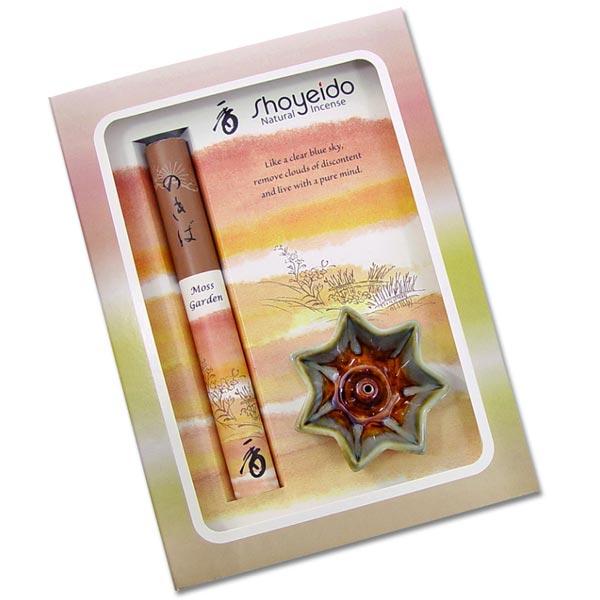 Shoyeido Incense - Moss Garden Gift Set