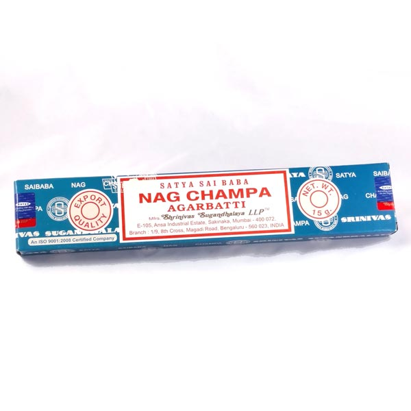 Nag Champa Stick Incense, 15g pack