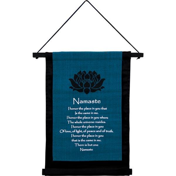 Namaste Cotton Banner