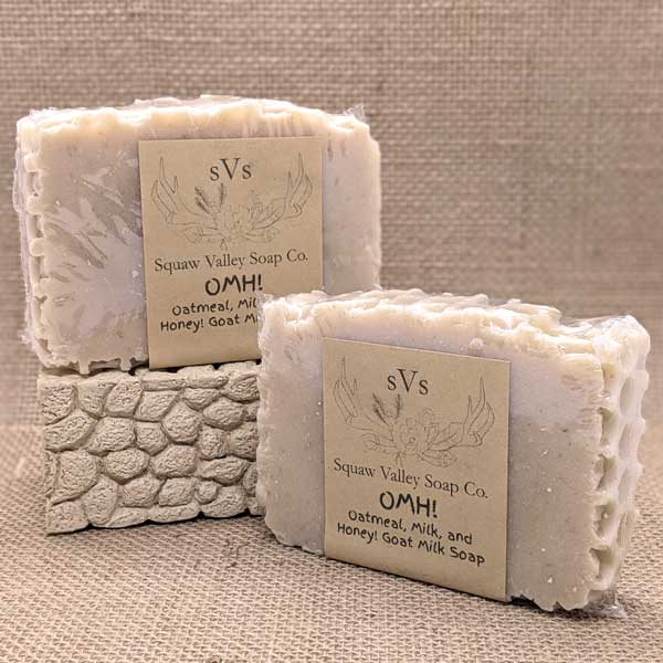 All Natural Oatmeal, Milk & Honey Goat Milk Soap Bar