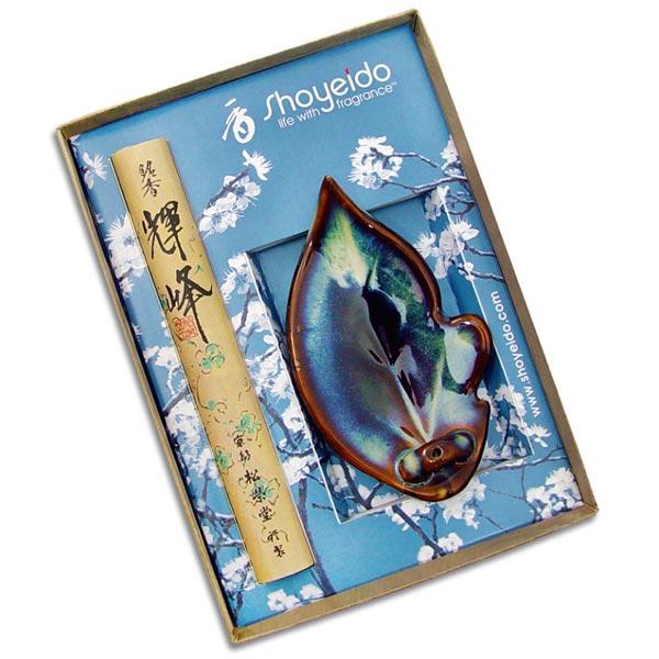 Shoyeido Incense - Ochiba Leaf Gift Set