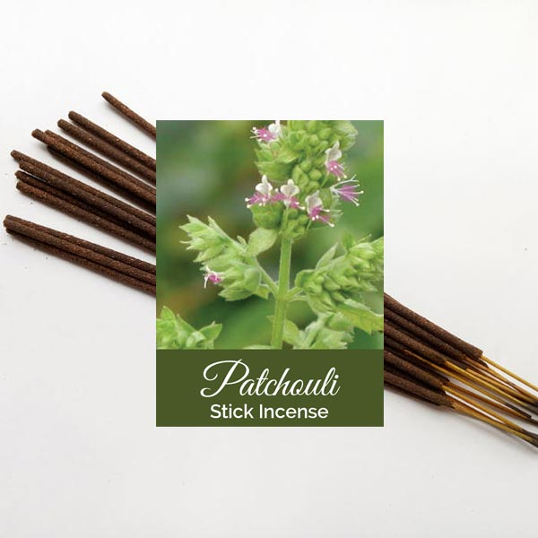 Patchouli Incense Sticks 12 pack
