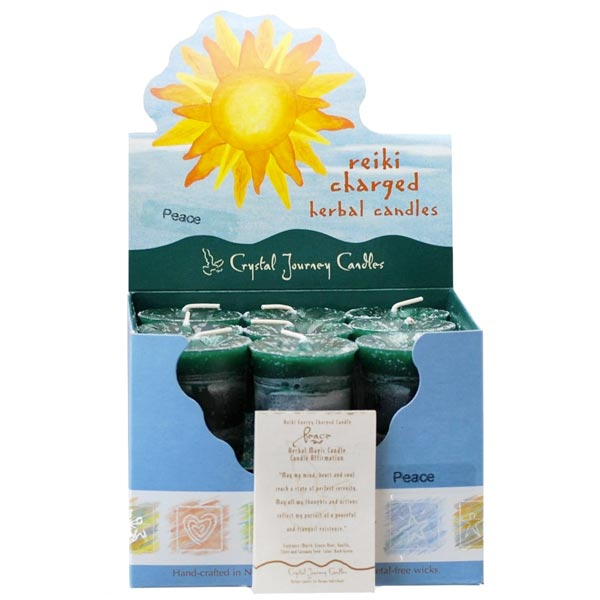 Reiki Charged Peace Herbal Votives