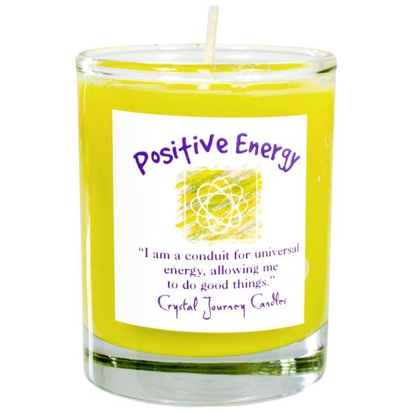 Positive Energy Soy Votive in Glass Holder