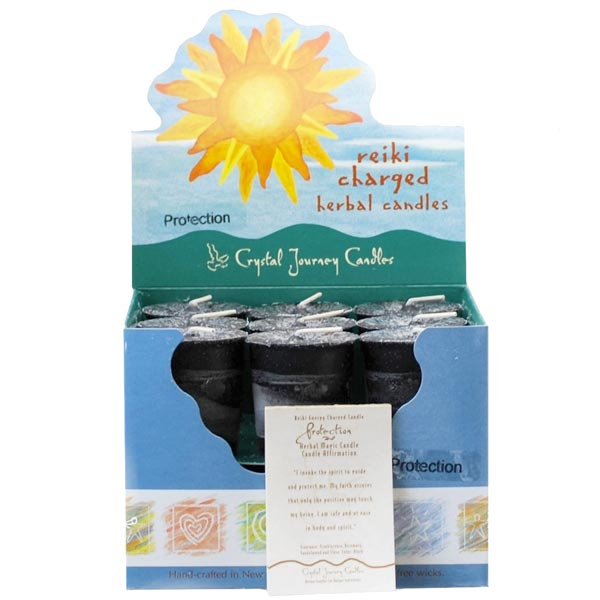 Reiki Charged Protection Herbal Votives