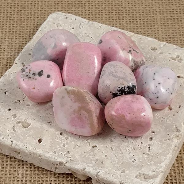 Rhodochrosite Tumbled Stones