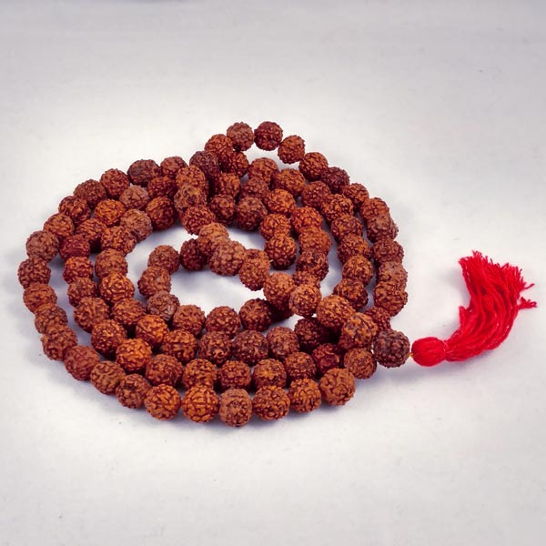 Rudraksha Seed Mala Beads