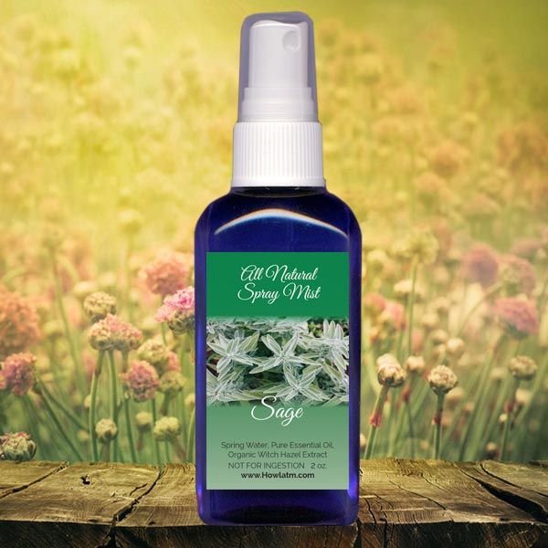All Natural Sage Spray Mist
