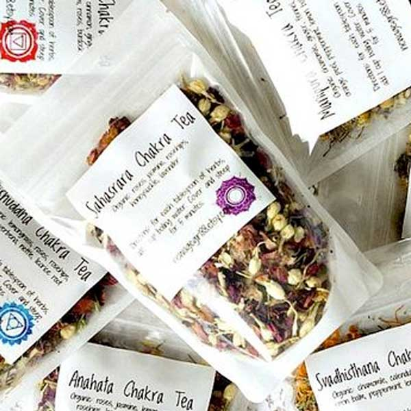 7th Chakra Sahasrara Tea