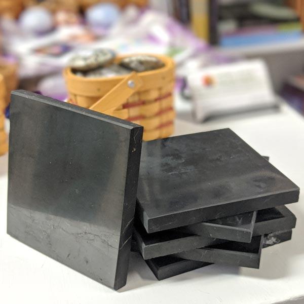 Square Shungite Plates