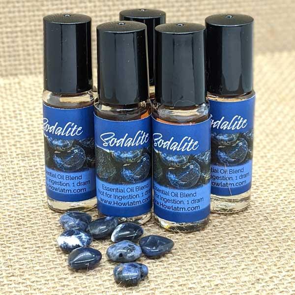 Sodalite Oil 1 dram Roll On Bottles
