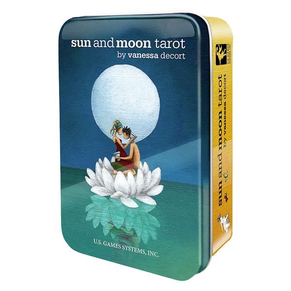 Sun & Moon Tarot in a Tin
