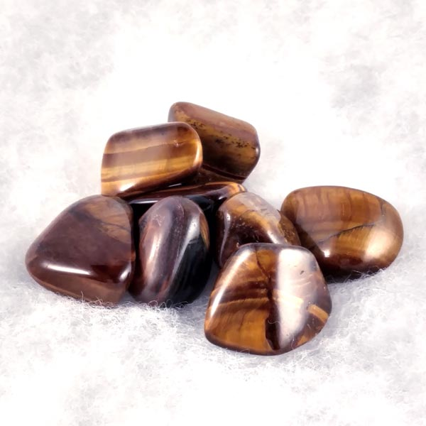 Golden Tiger's Eye Healing Tumbled Stones