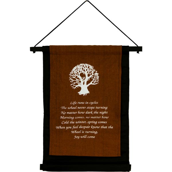 Tree of Life Cotton Banner
