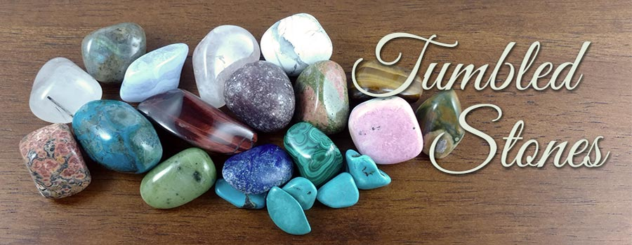 Over 100 Varieties of Tumbled Stones