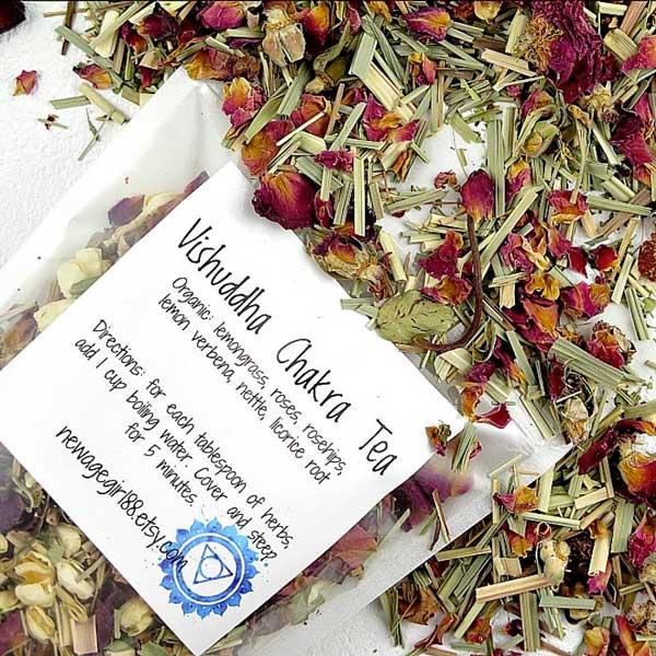 5th Chakra Vishuddha Tea