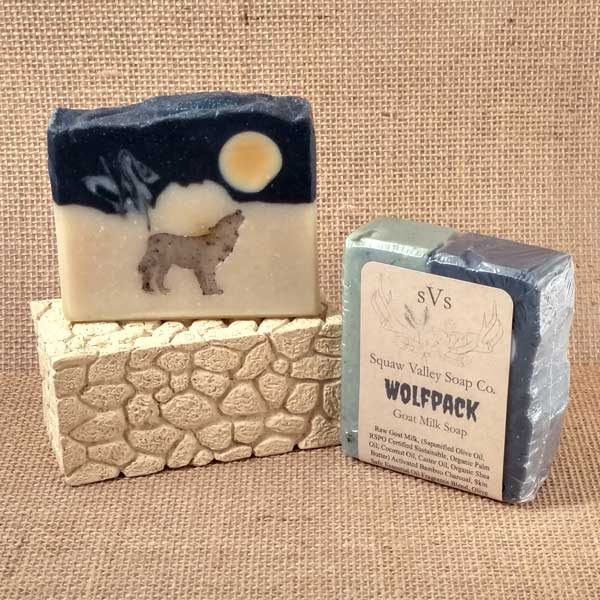All Natural Wolf Pack Goat Milk Soap Bar