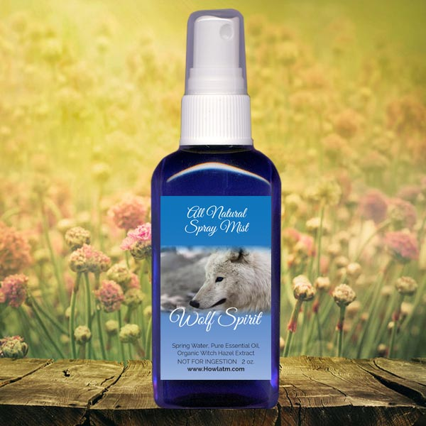 All Natural Wolf Spirit Spray Mist