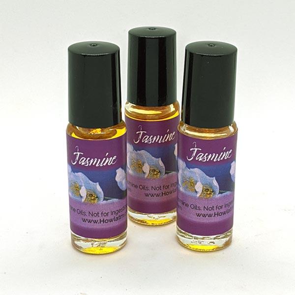 Jasmine Oil 1 dram roll-on bottles